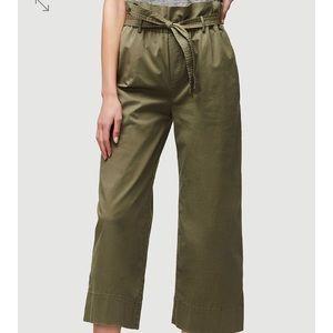 NWT FRAME Denim Paper Bag Trouser Size S
